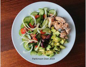 Keto lunch Parkinson diet