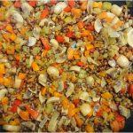 Lentil and vegetable penne pasta recipe