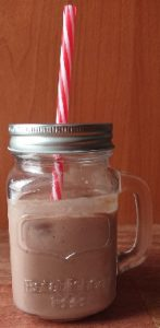 Choc, Avocado and Strawberry Smoothie recipe