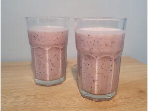 Smoothie blueberry strawberry recipe