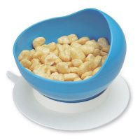 Blue scooper bowl